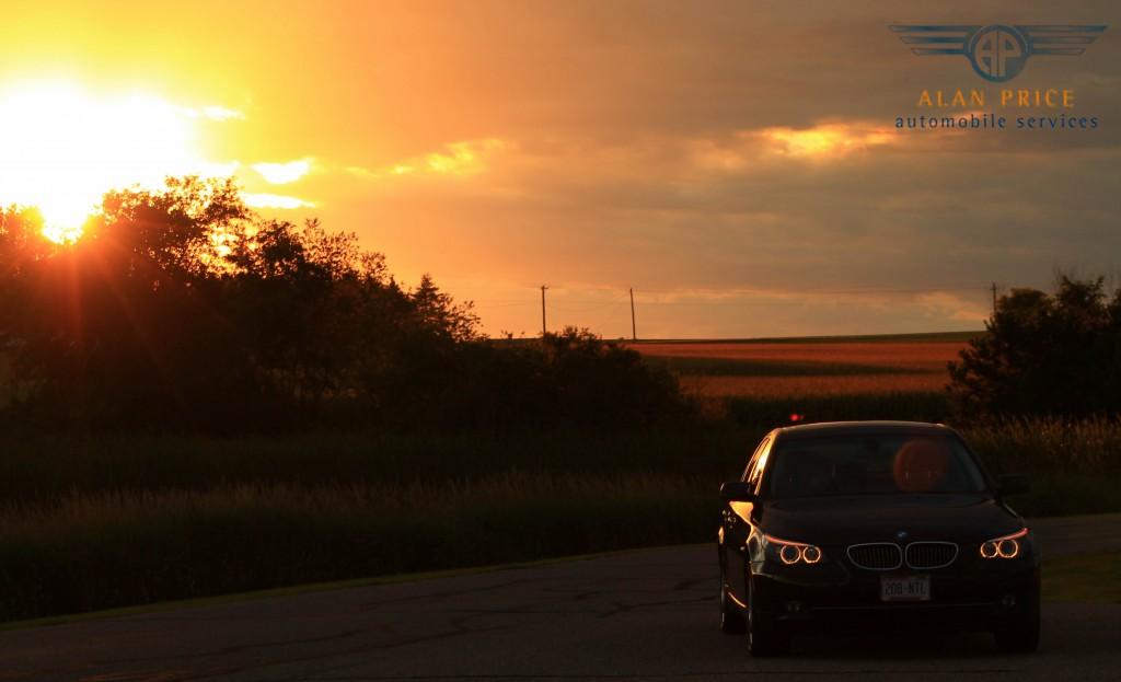 BMW Sunset Gimp