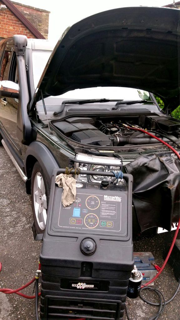 Land Rover Discovery TDV6 Mobile Terraclean 2 Gimp